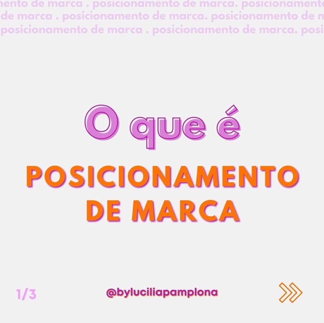 "EMPREENDEDORISMO + MKT on Instagram: ""Posicionam..."