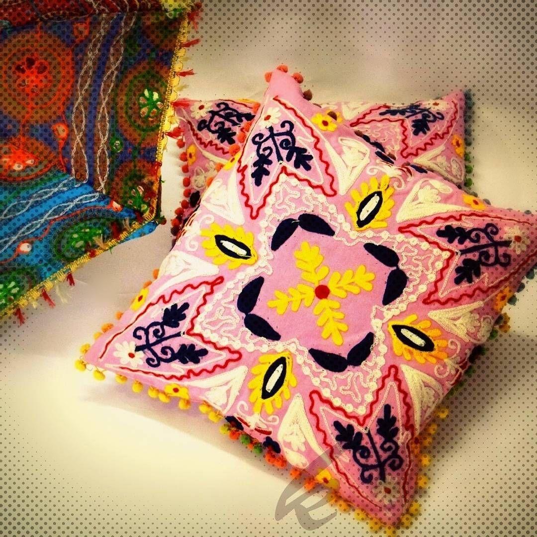 Handmade suzani cushion x inch hand embroidered cushion