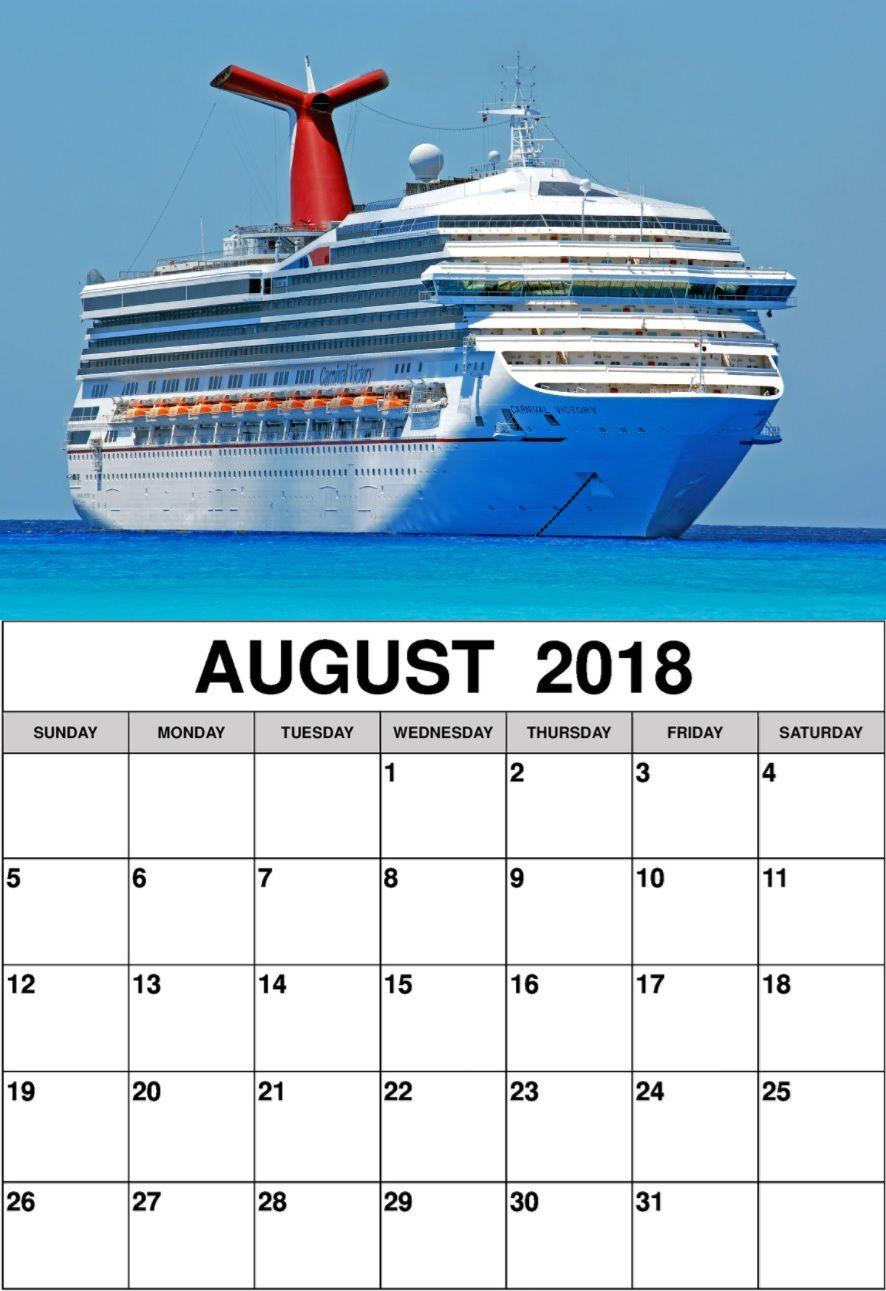 august 2018 personalized calendar templates calendar 2018 in 2018