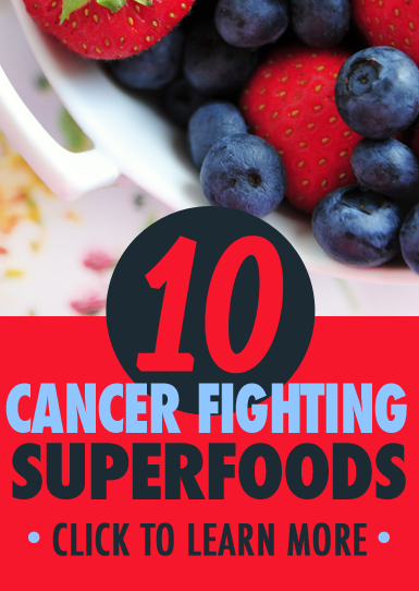 You'll want to remember these superfoods to help decrease your risk for cancer
