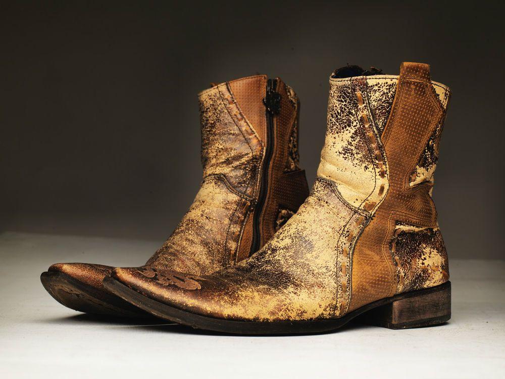 Mark Nason Leather Boots, Mens Size 9.5