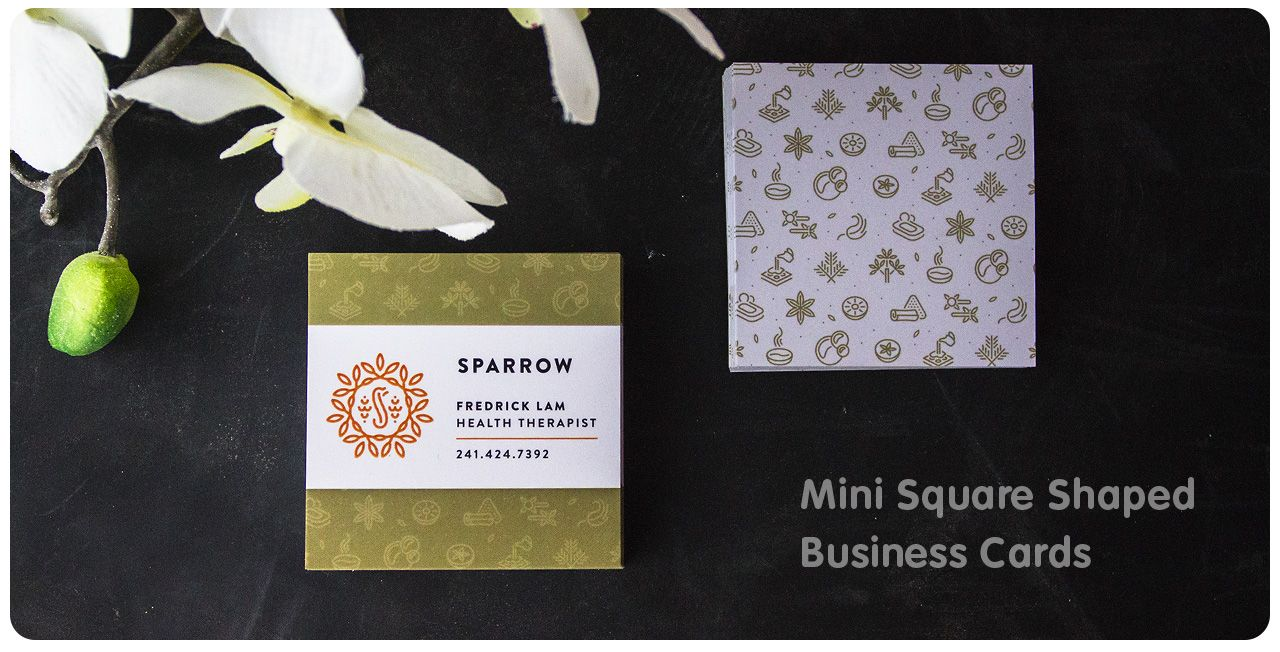 Outstanding print square business cards festooning business card mini square business cards jukebox print business card reheart Images