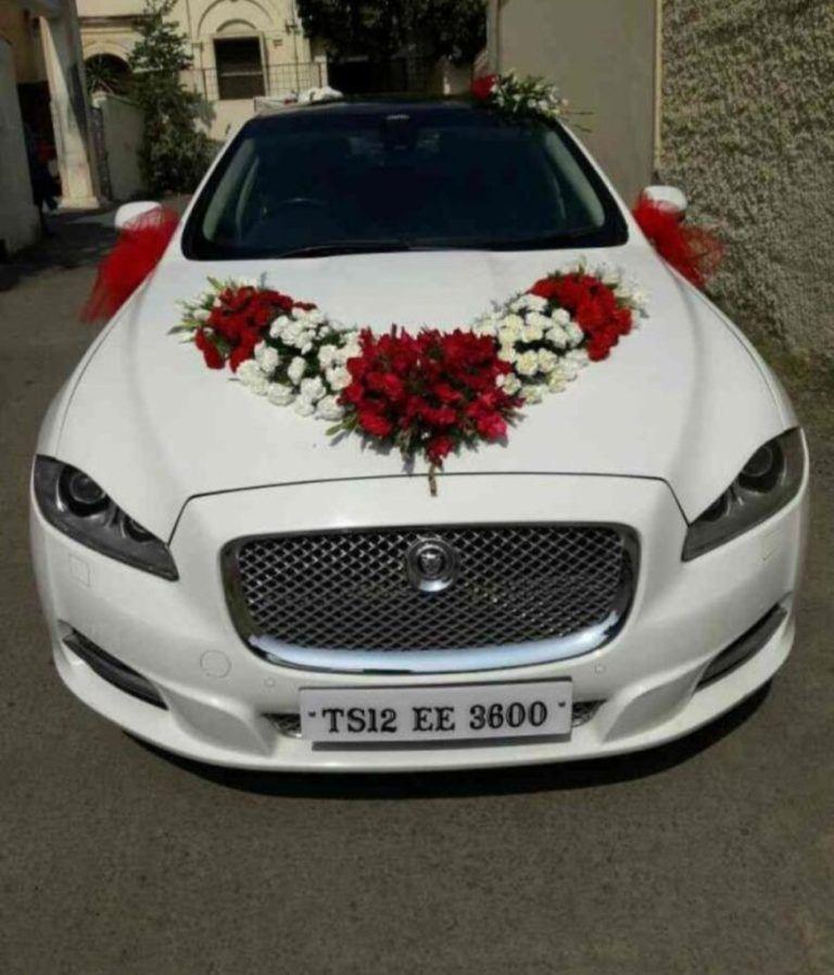 Rias Mobil Pengantin Pengantin Mobil Bunga