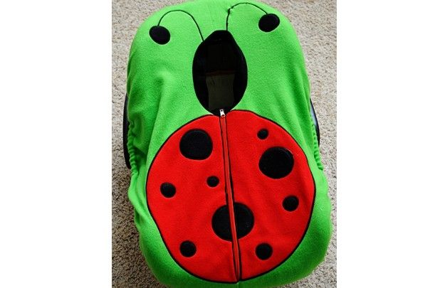 Ladybug - Adorable and Warm Infant Car Seat Cover: Madeline and Company
