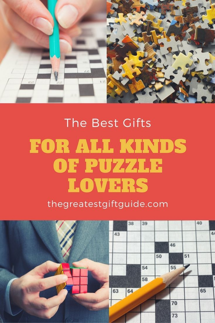 best gifts for puzzle lovers | secret santa gift ideas | pinterest