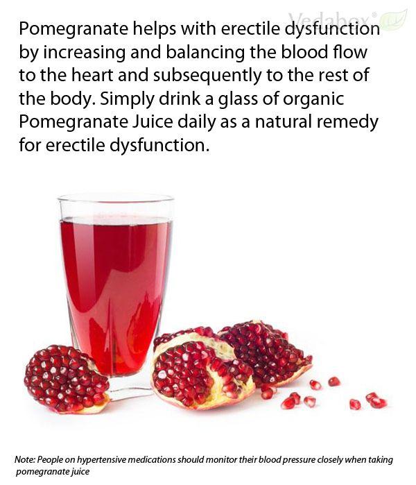 pomegranate erectile dysfunction