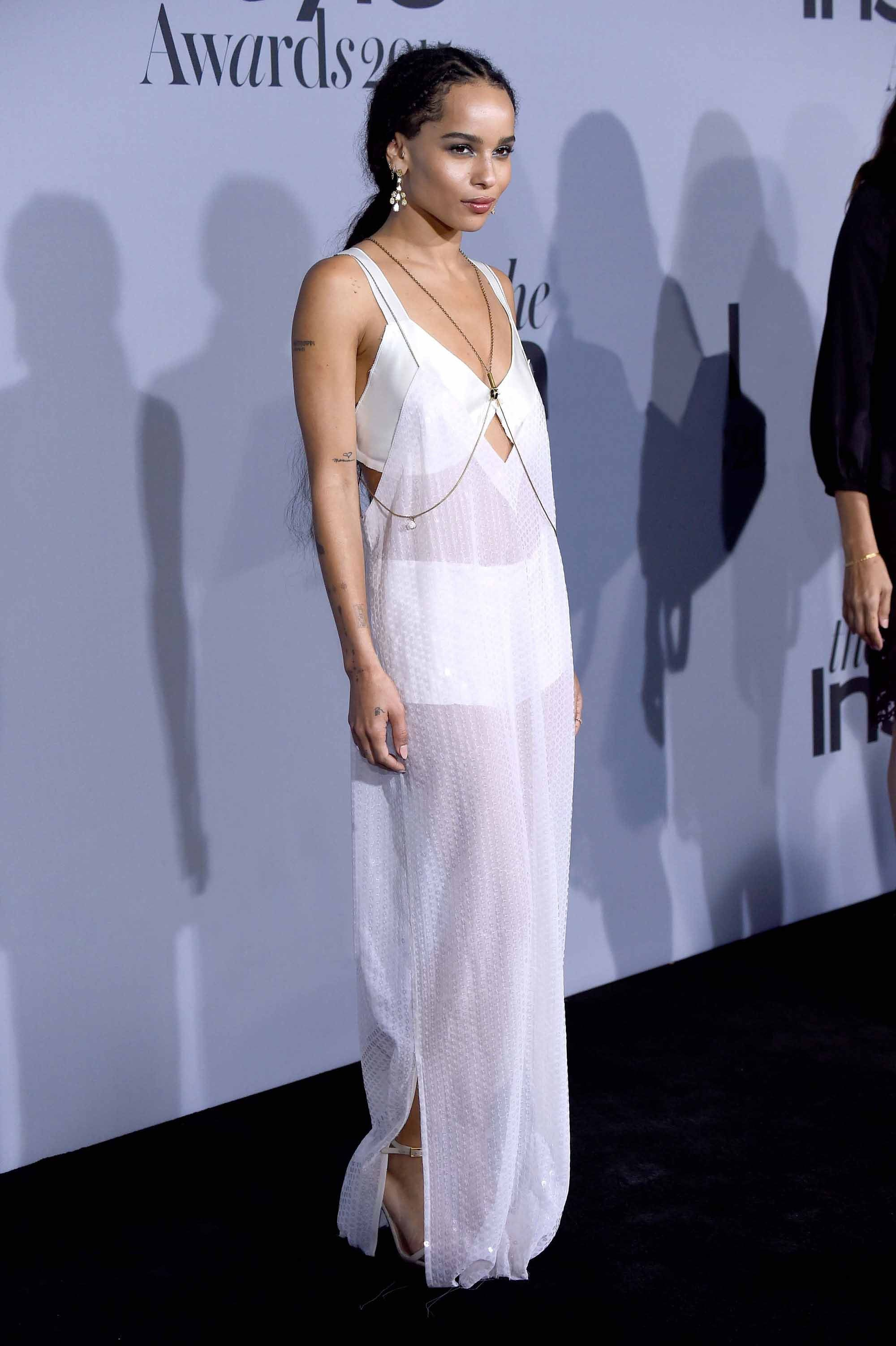Zoë Kravitz in Calvin Klein Collection, 2015