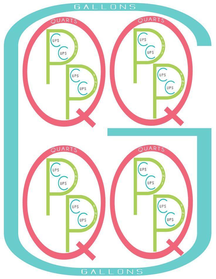 Measurements Free Printable | Pinterest | Free printable, Math and ...