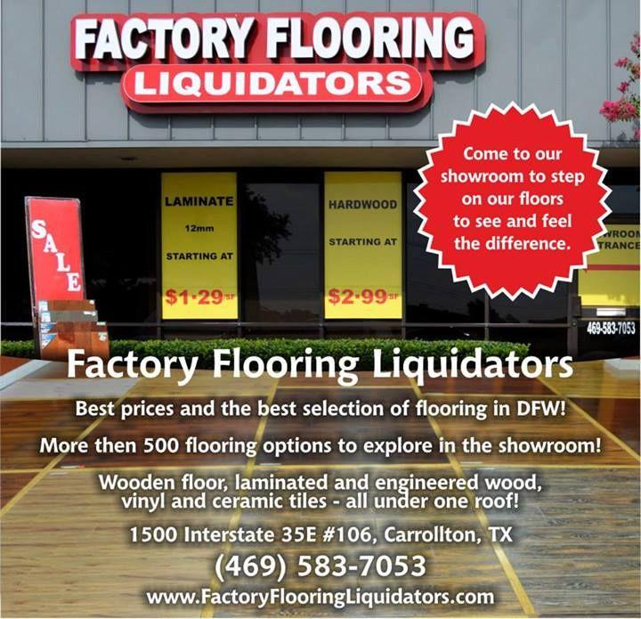 Factory Flooring Liquidators Is The Best Flooring Business In Texas