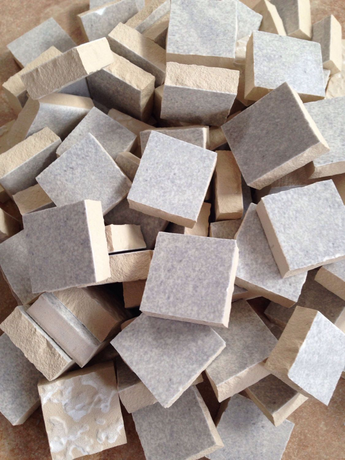 Mosaic tile supplies set of 90 gray white ceramic pieces hand mosaic tile supplies set of 90 gray white ceramic pieces hand cut mosaic tile art supplies mosaic project supplies mosaic pieces dailygadgetfo Gallery