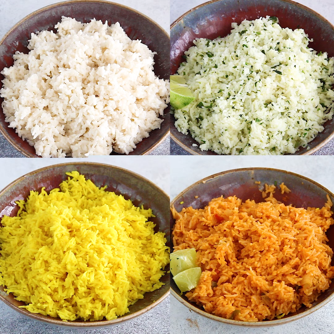 7 Easy Rice Recipes (Stove Top & Rice Cooker) | sweetpeasandsaffron.com