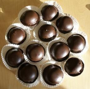 Selbstgemachte Mohrenköpfe ( ergeben 12 Stück ) #recipeformarshmallows