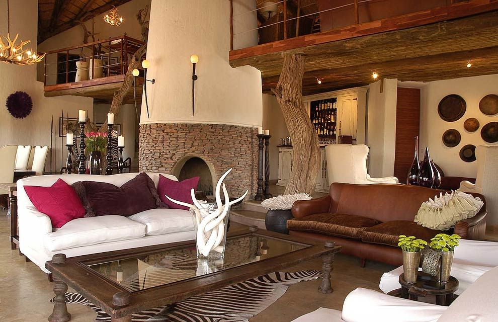 Royal Madikwe Safari Lodge: Award Winning Luxury With An Eco Conscience. Safari  Living RoomsLiving Room DecorSafari ...