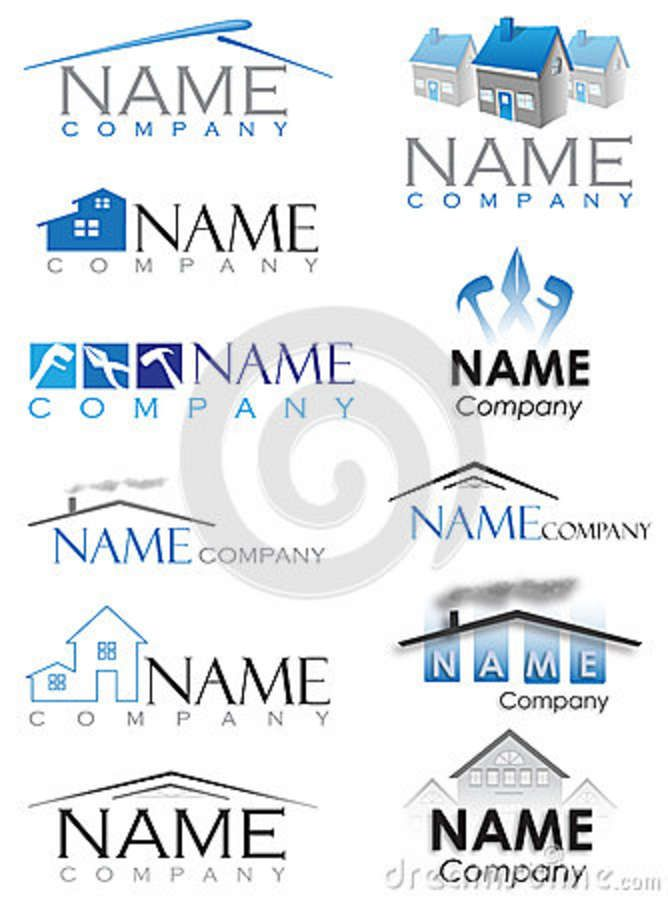 Construction logos set of house construction logos do it photo about set of house construction logos 30439336 find this pin and more on do it yourself solutioingenieria Choice Image