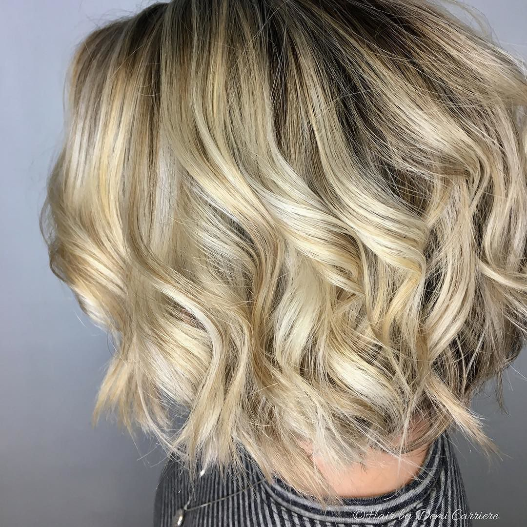 If Mondays Were Shoes They D Be Crocs Make Your Mondays Better By Calling Your Stylist At Roots Southern Salon An Blonde Lob Long Hair Styles Hair Painting
