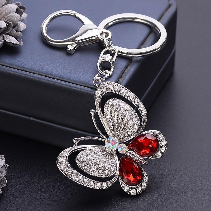 beautiful lanyard flowers decorative beautiful keychain pretty pendant