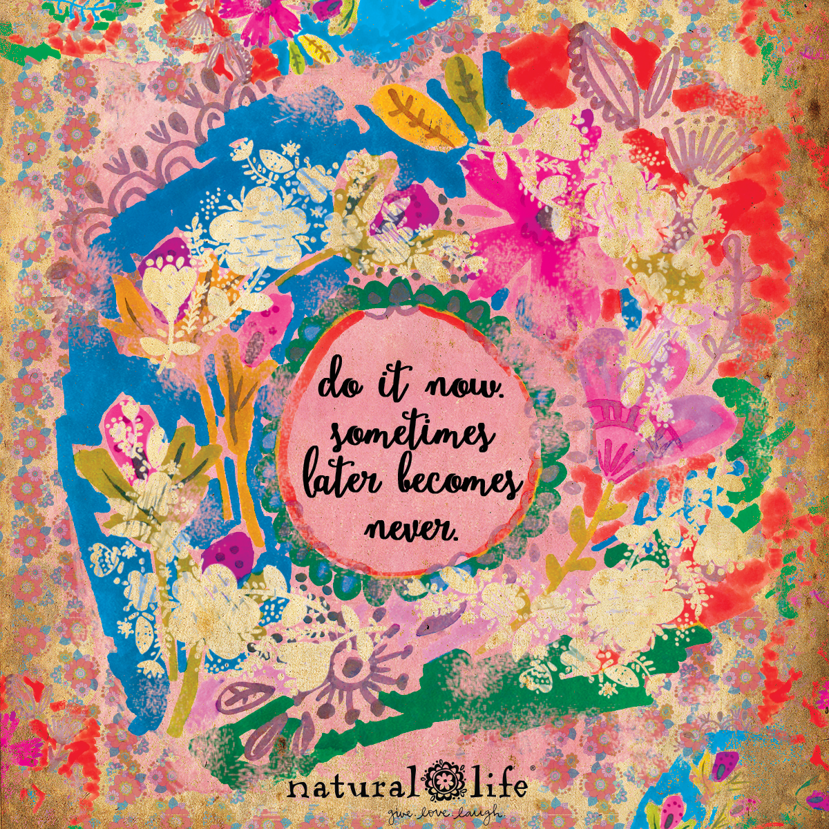 Inspirational Quotes About Life And Nature: Stay Persistant! Www.naturallife.com