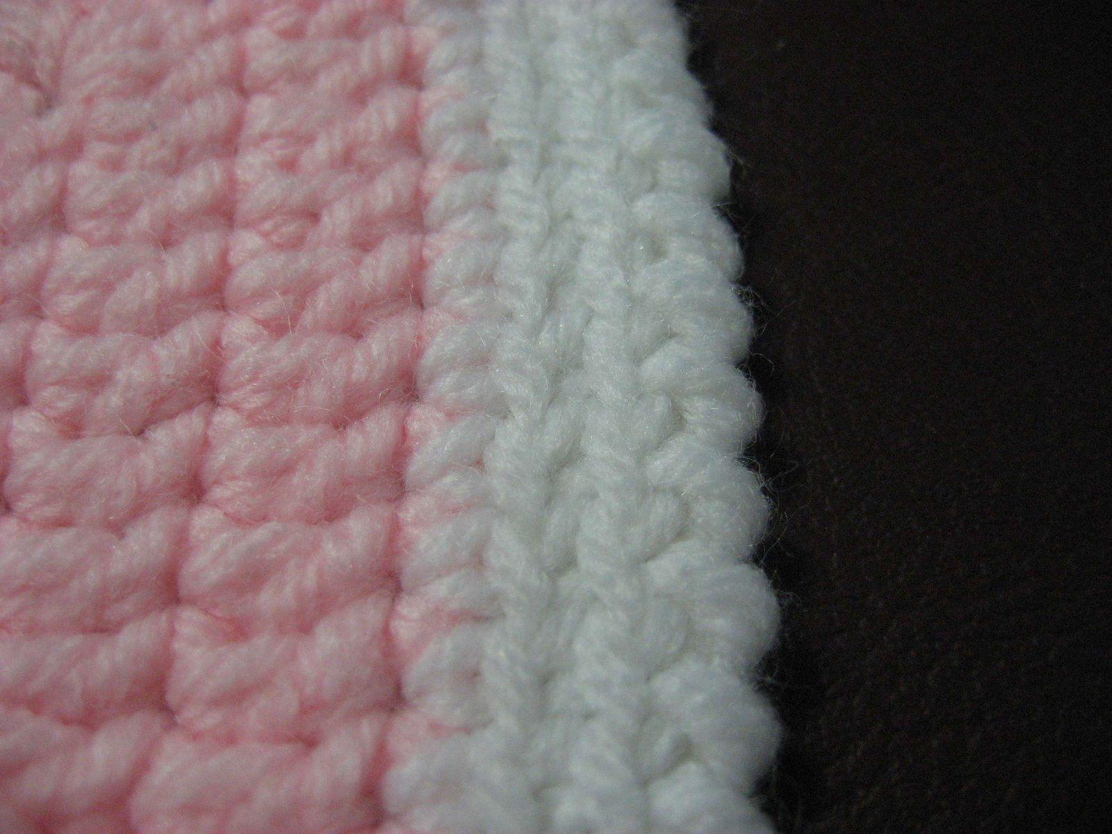 Crochet Edgings for Beginners | Hooked on Needles: Reverse Single ...