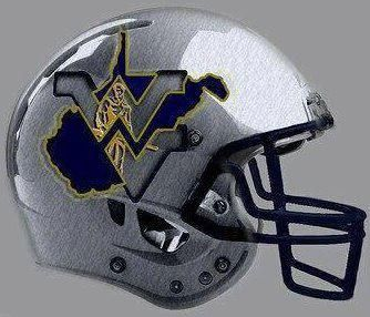 West Virginia Football Helmet Design Football Helmets West Virginia Mountaineers Football