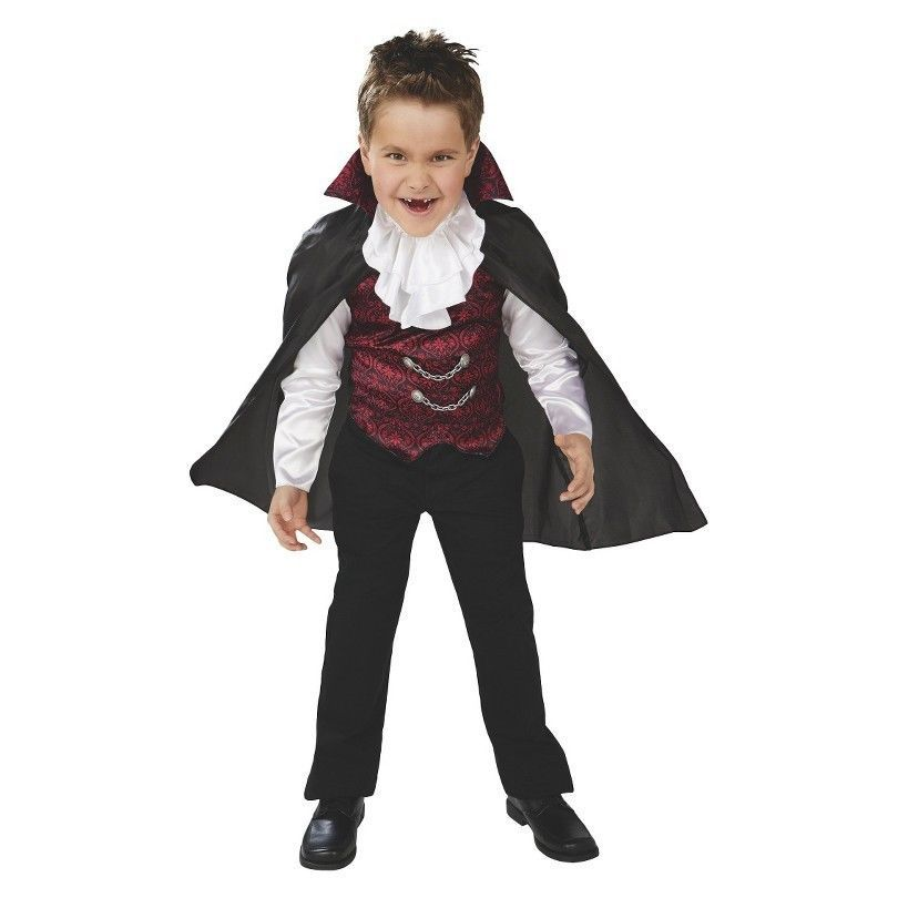 NWT - Boy's Classic Vampire Costume Youth Size M (6-8) #CuteCostumes #Halloween