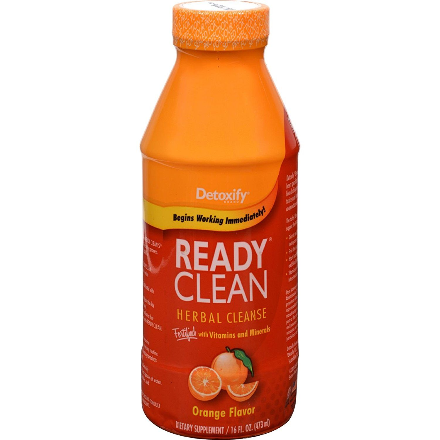 2Pack! Detoxify One Source Ready Clean Herbal Cleanse - Orange Flavor - 16 oz >>> Learn more by visiting the image link. (This is an Amazon Affiliate link and I receive a commission for the sales)