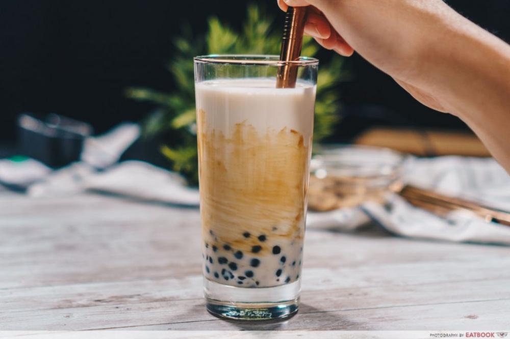Brown Sugar Pearl Fresh Milk Recipe Cheap Homemade Boba Tea That S Just As Good Eatbook Sg New Singapore Restaurant Boba Tea Milk Tea Recipes Milk Recipes