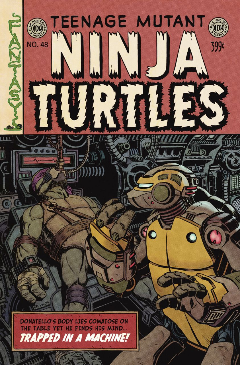Teenage Mutant Ninja Turtles #48 (Issue)
