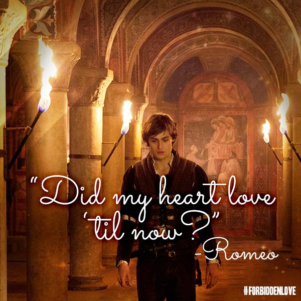 Romeo & Juliet In Theaters October 11. #ForbiddenLove
