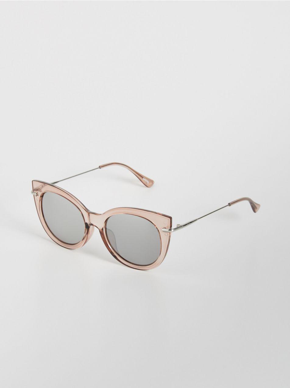 Kolorowe okulary przeciwsłoneczne Sinsay Okulary