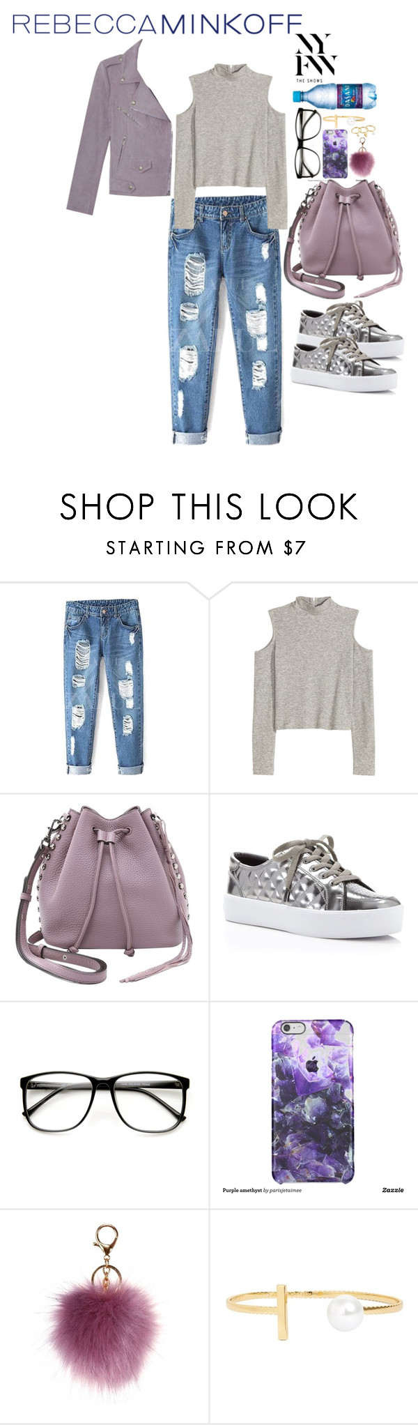 """""""lilac"""" by valsfashiondesings ❤ liked on Polyvore featuring Rebecca Minkoff, women's clothing, women, female, woman, misses, juniors, contestentry, seebuywear and rmspring"""