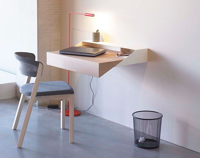 Hanging Wall Desk space saver: 15 wall-mounted desks to buy or diy | wall mounted