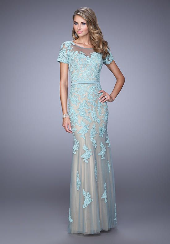 6453a5f6821 La Femme Evening 21703 Mother Of The Bride Dress - The Knot