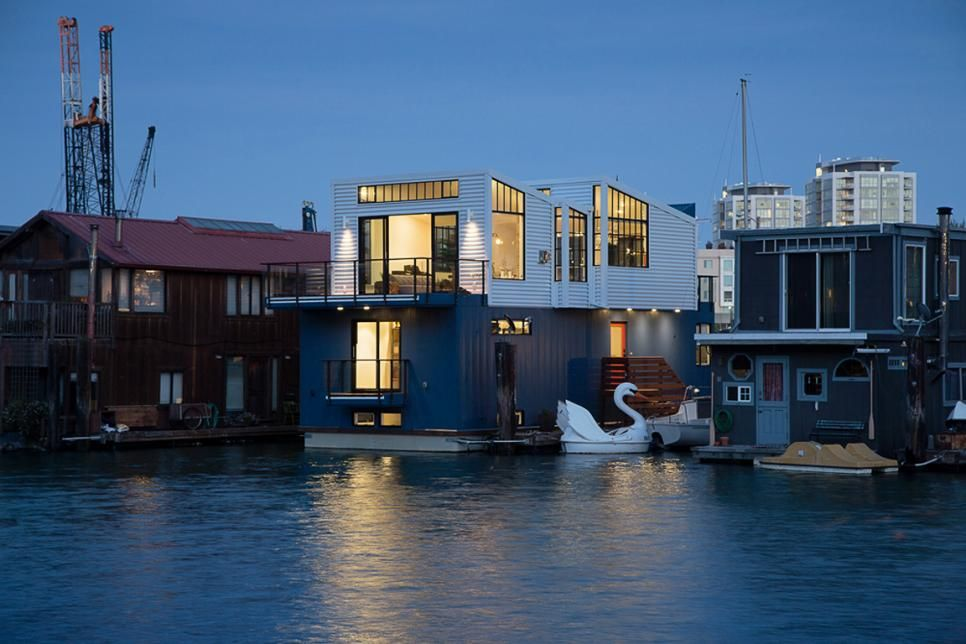 This Floating Community Has 20 Floating Homes Of Which This