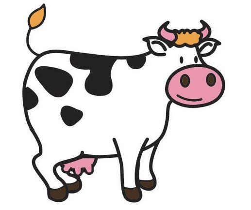 pin smets op la ferme kleurplaten koe
