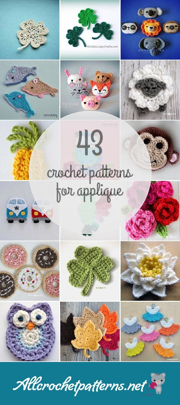 Crochet Patterns For Applique | Crochet | Pinterest | Croché ...