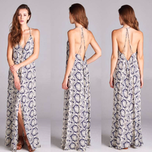 Jalen Stringy Back Maxi