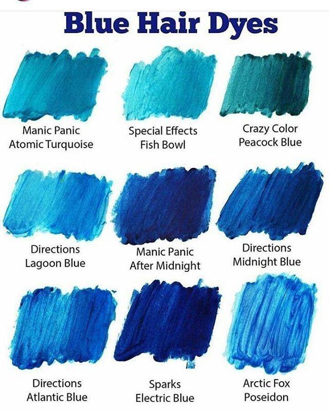 Blue Hair Dyes Hair Dye Tips Ash Blue Hair
