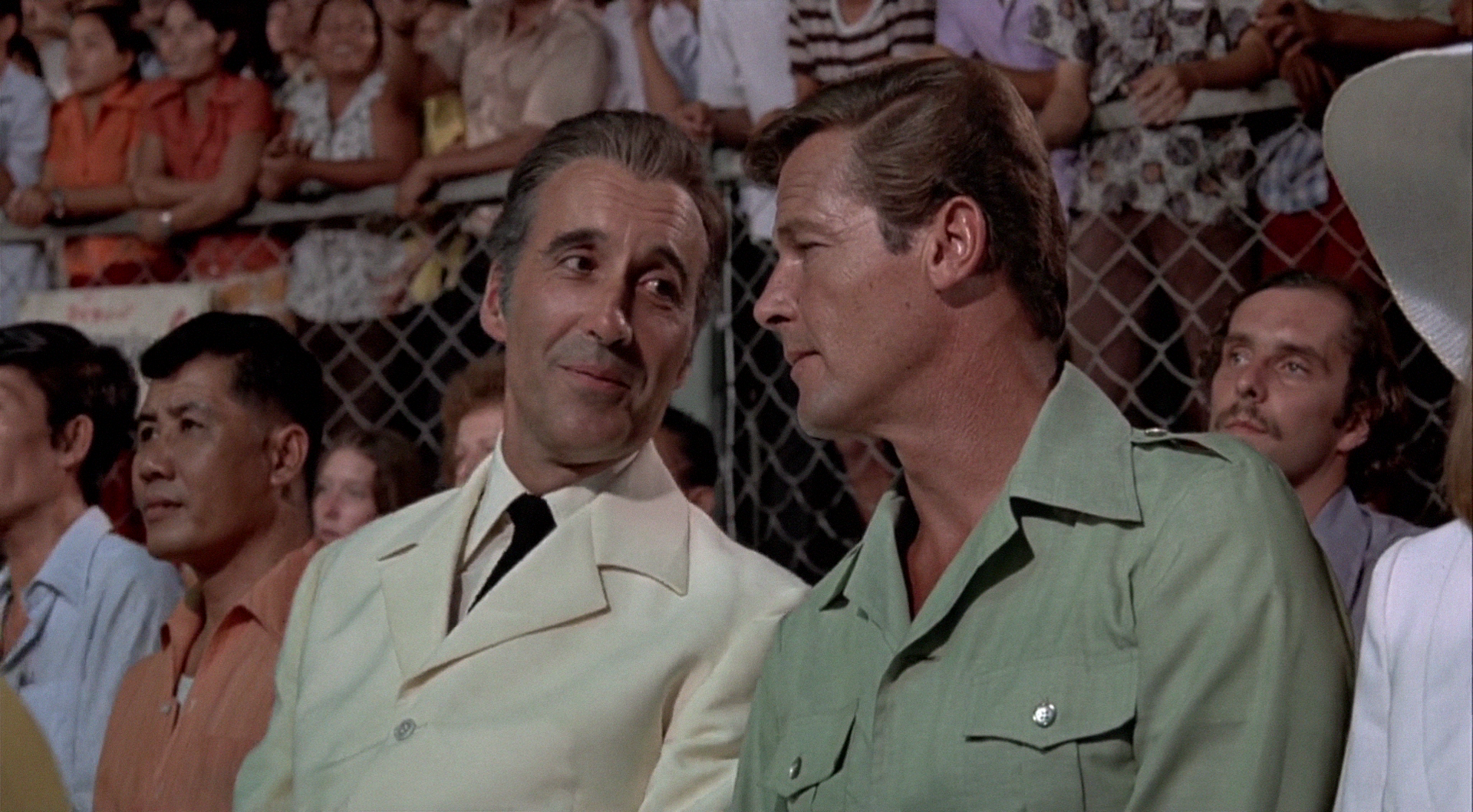 The Man with the Golden Gun (1974)  Christopher Lee