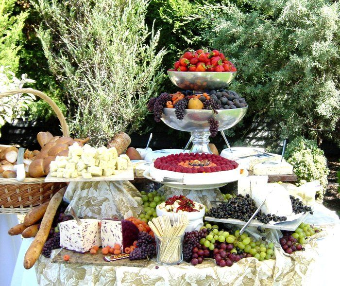 Preferred Sonoma Caterers Petaluma Ca United States Sonoma County Bounty Setup For A Wedding For 300 Catering Napa Valley Style Wedding Vendors