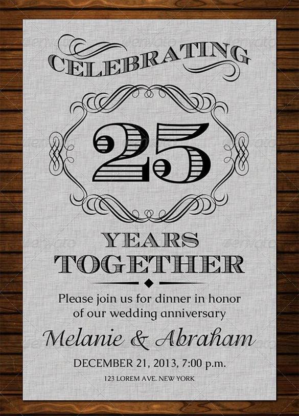 Anniversary Card Templates 12 Free Printable Word Pdf Reg Anniversary Invitations 25th Wedding Anniversary Invitations 50th Wedding Anniversary Invitations