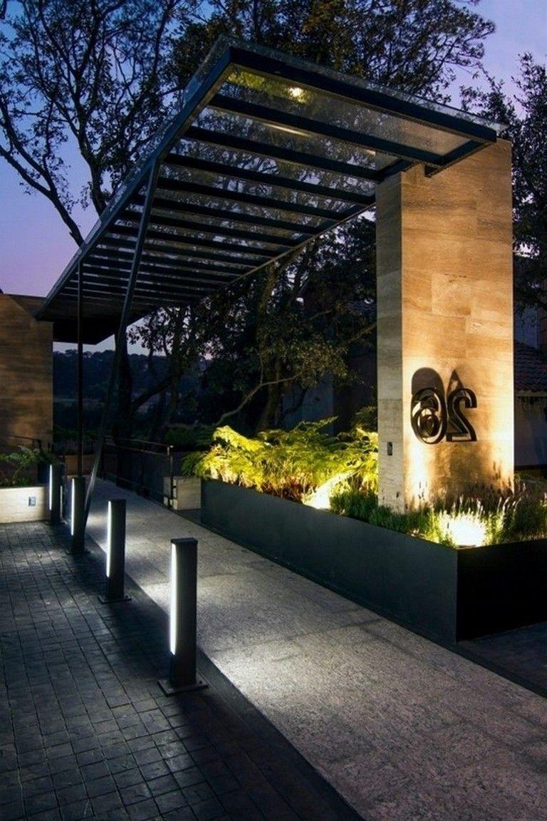 79 Incredible Modern Garden Lighting Ideas Garden Gardening Lightingdesign Arsitektur Rumah Dekorasi Modern backyard lighting ideas