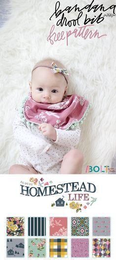 Bandana Drool Bib 2 Ways Sew It Baby Sewing Projects