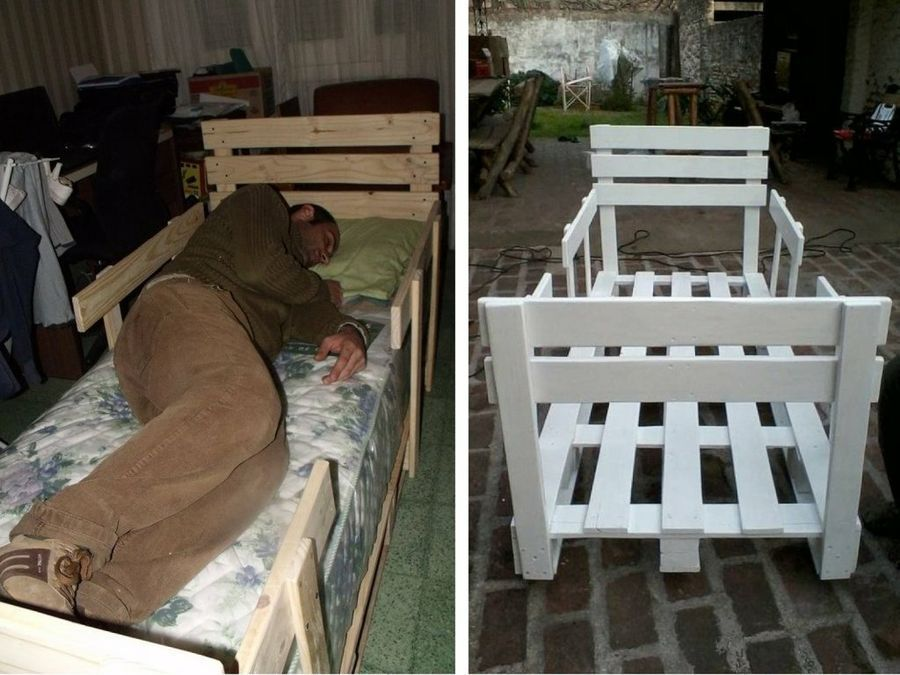 Fotos con el paso a paso para hacer una cama infantil de palets te encantar el resultado - Hacer una cama con palets ...
