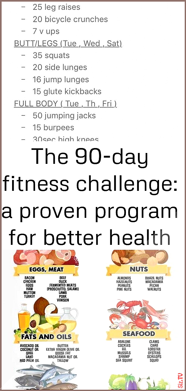 The 90-day fitness challenge a proven program for better health and lasting weight loss 3 The 90-day...