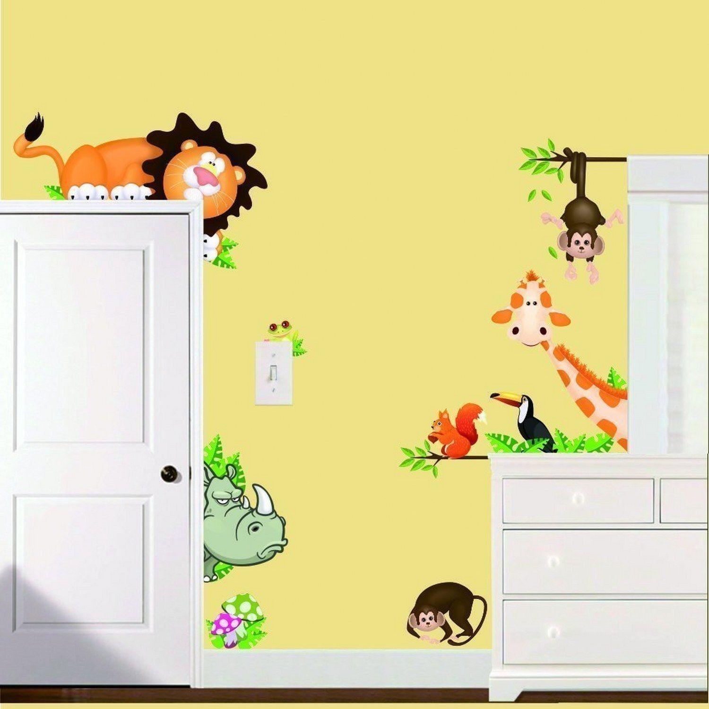 Kids Nursery Room Wall Decal Sticker DIY Vinyl Art Removable ...