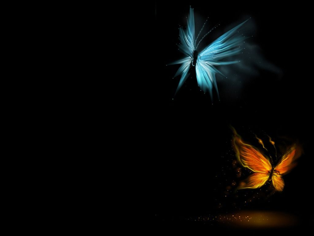 Stunning 50 Black Wallpapers For Desktop Butterfly Wallpaper Art Wallpaper Yellow Butterfly