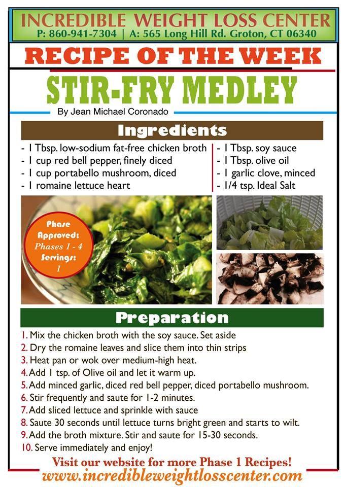 ideal protein diet stir fry recipes