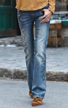 KELLY STRAWBERRY BLOSSOM JEANS BY DRIFTWOOD | Kick's Style Board ...