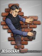 JEStockArt - Supers - Gentleman Spy with Ghost Powers - CNB