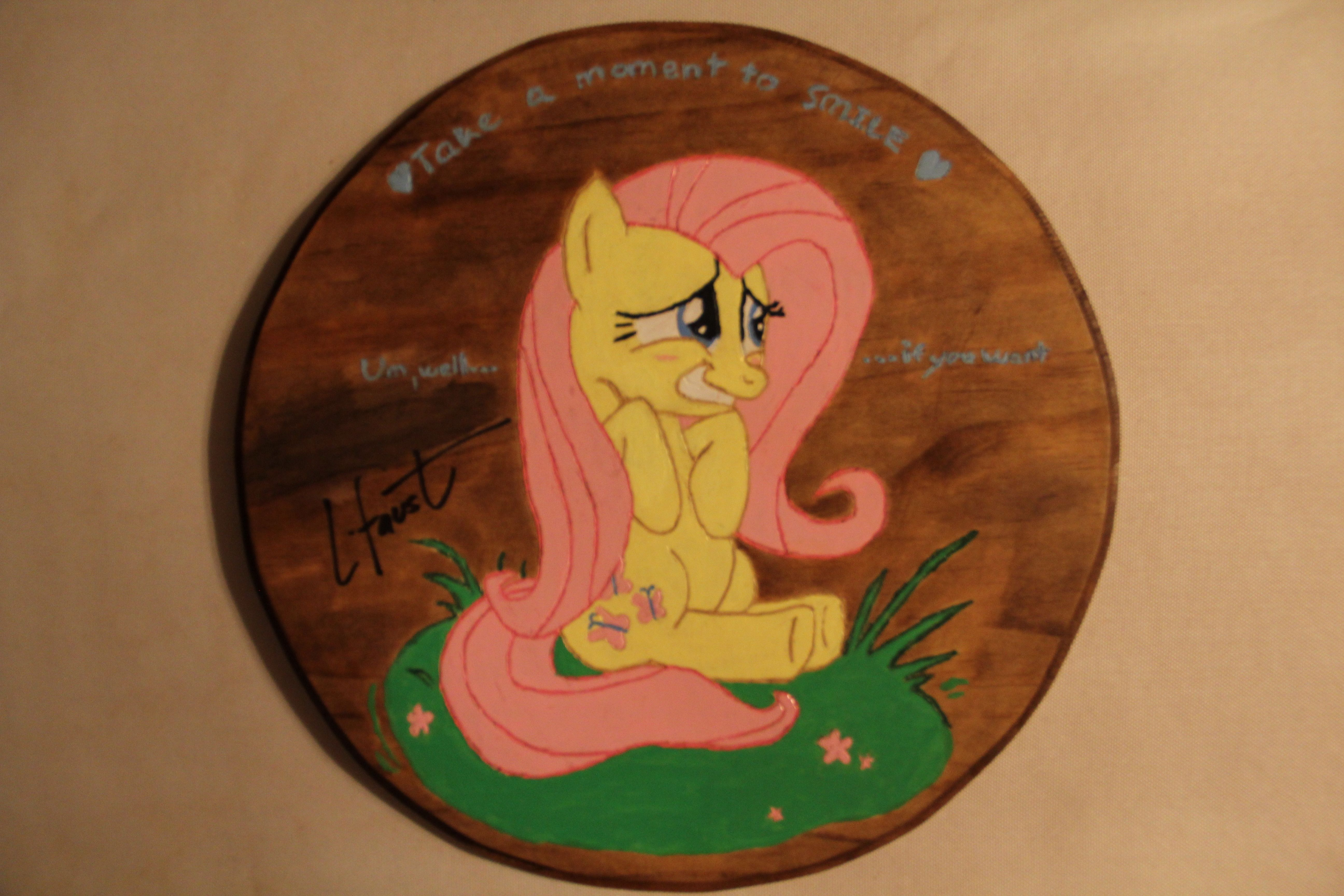 Watcher Contest - L. Faust Signed Prize! Interested in a really cool piece of art signed by Lauren Faust?  All you need is a DeviantArt account and to comment on this journal post.  Super easy and super worth it!